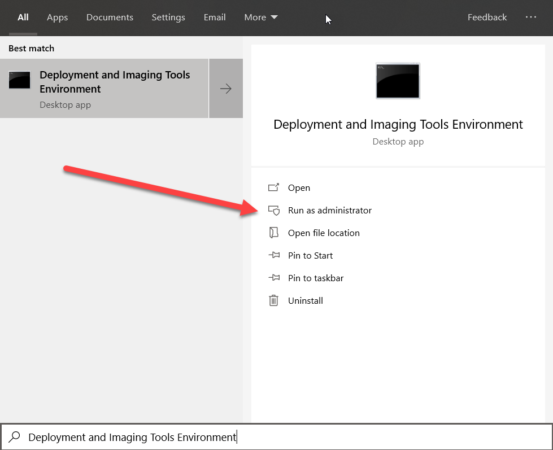 Deployment and Imaging Tools Environment